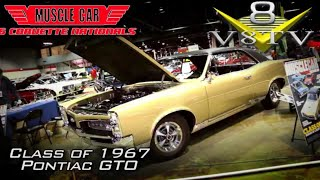 Restored 1967 Pontiac GTO Feature Video: Muscle Car And Corvette Nationals 2017 V8TV