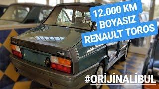 12.000 KM BOYASIZ 1990 RENAULT 12  TOROS ! #ORİJİNALİBUL