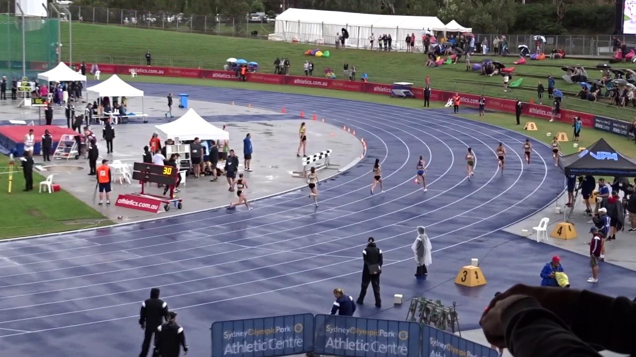 Open 800m Women Final Australian Athletics Championships Olympic Park Sydney 2 04 2017