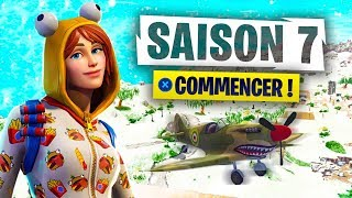 FORTNITE SAISON 7. (AVION, SKINS, MODE CREATIVE, NEW MAP)