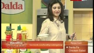 ''healthy Cooking'' Ep# Santa Fe Chicken Salad Part-3 (09 March 12) Health Tv