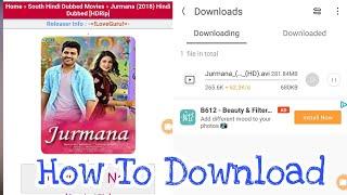 How to download Jurman South Move (Jurmana Hindi Dubbed) Hindi Par