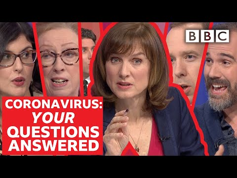 Coronavirus: How afraid should we be? | Question Time - BBC