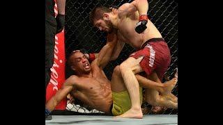 Лучший бой Хабиб Нурмагомедов | ufc Хабиб | Хабиб против бразильца
