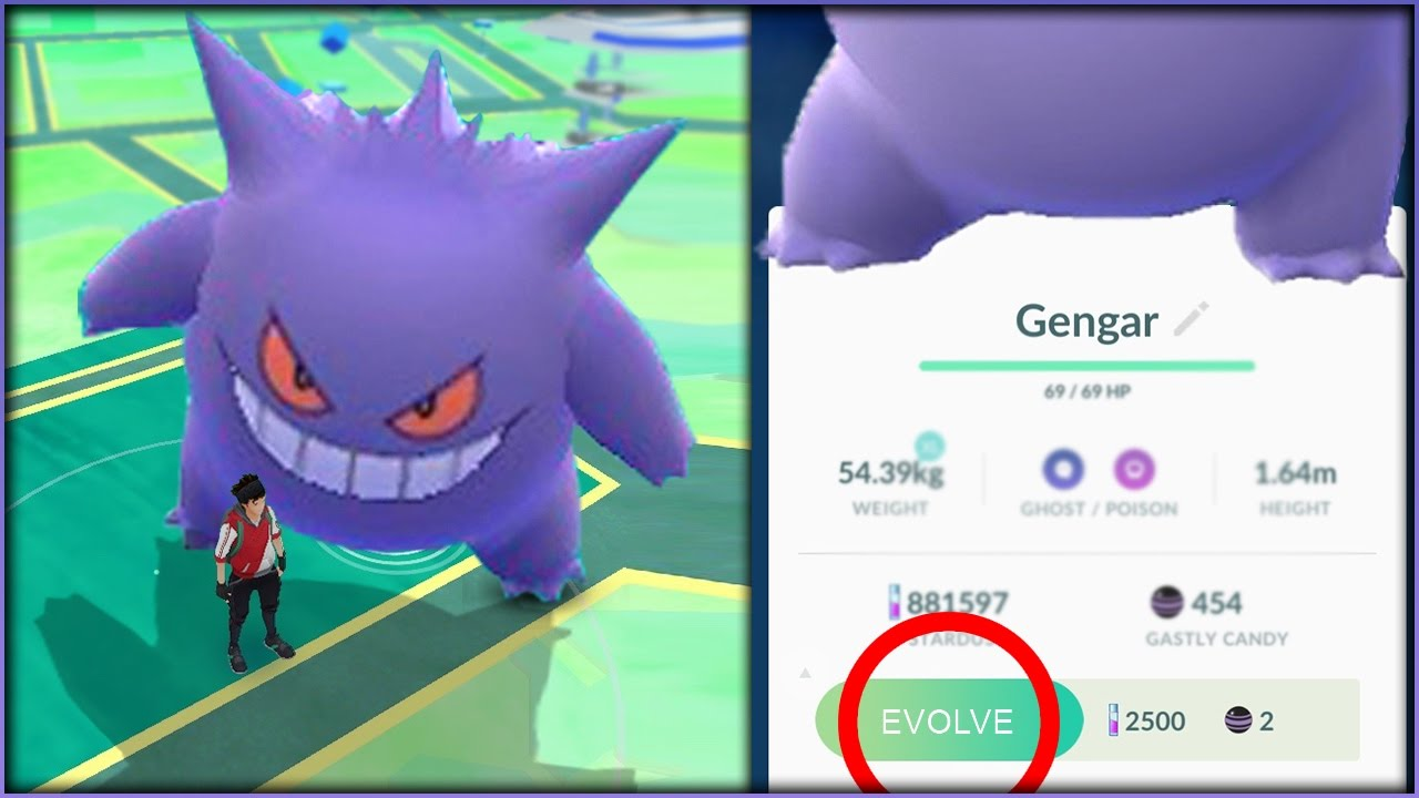 CAN A GENGAR BECOME A GIANT GENGAR IF IT GETS POWERED UP ...