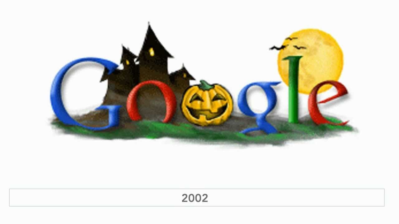 Halloween Google Doodles (1999 - 2010) - YouTube