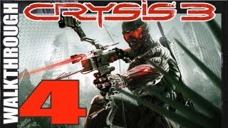 4 Crysis 3 Walkthrough pt 4 A Flawless Getaway Play Gameplay (HD)