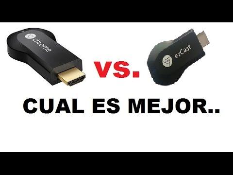 ORIGINAL vs.COPIA. CHROMECAST vs. EZCAST, revision..