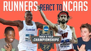 REACTING TO GRANT HOLLOWAY AND MORE 2019 NCAA TRACK & FIELD CHAMPIONSHIPS