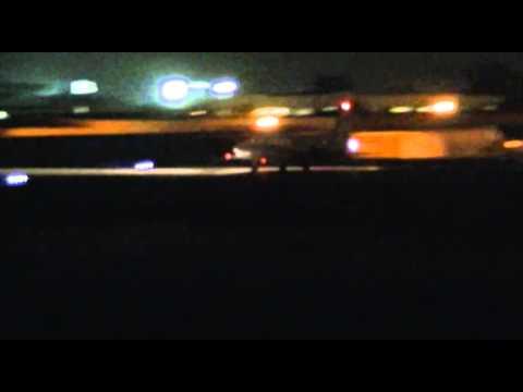 (RARE) North American Sabreliner 65 taking off from Santa Monica airport
