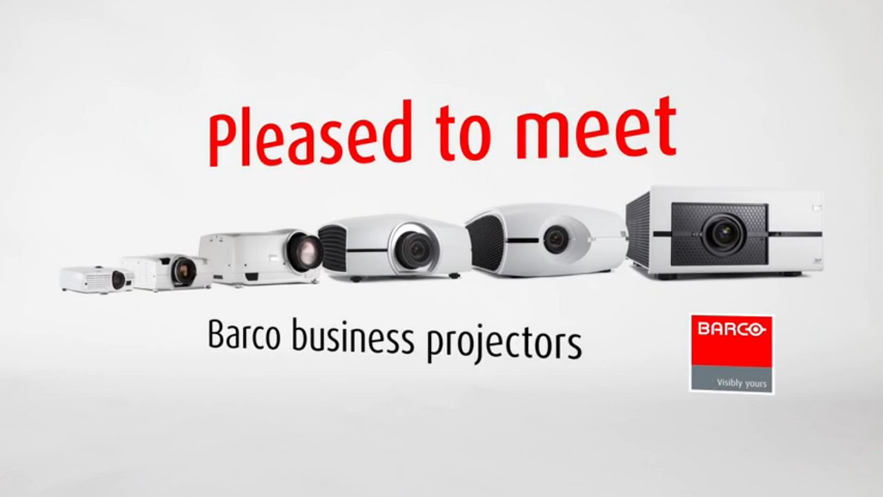 Discover the Barco business projector portfolio