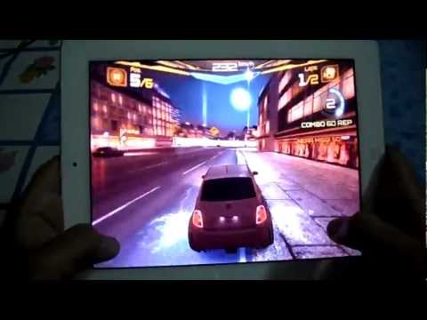 ASPHALT 7 HEAT ON IPAD 1, IPAD 2, IPAD 3 GAMEPLAY