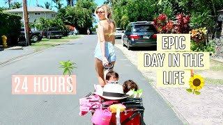 Day In The Life Of A Stay At Home Beach Mom