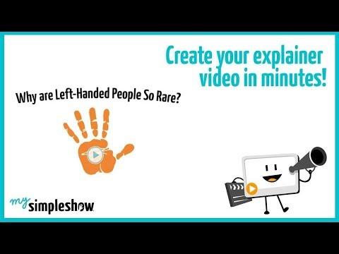 Why Left Handed People Are So Rare Mysimpleshow Youtube
