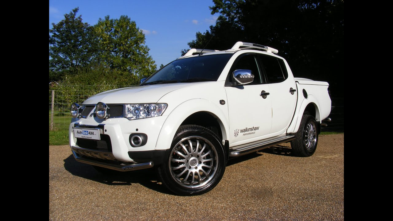 2011 Mitsubishi L200 2.5 DiD Walkinshaw Performance Double Cab For