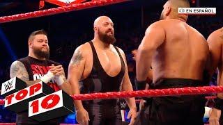 Top 10 Mejores Momentos de Raw En Español: WWE Top 10, Jan 6, 2020
