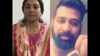 Nee paathi naan paathi - cover - Ramyaduraiswamy