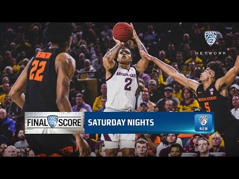 Oregon State Beavers - Beav's comeback falls short losing to Arizona State 70-67!