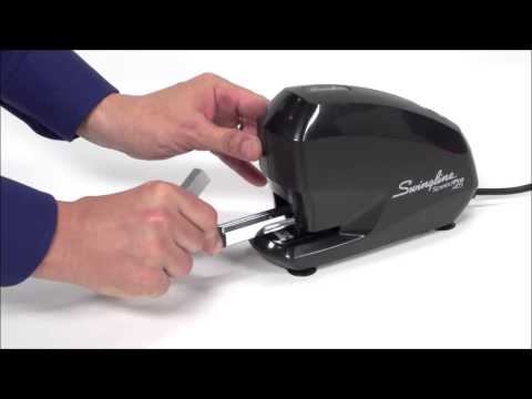 Swingline High Capacity Electric Desk Stapler Demo SWI