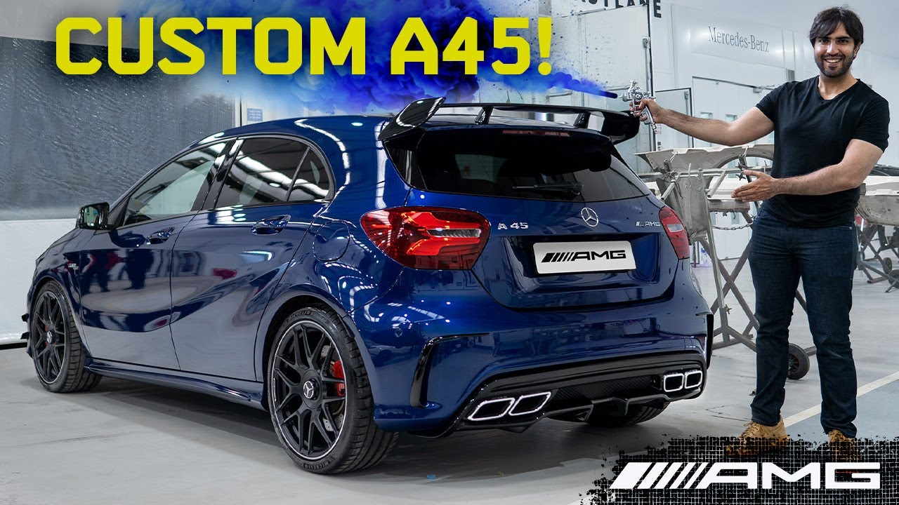 Download My Cheap A45 Transformed : PTS Paint, 63 Exhausts, CarPlay + More! - Best 45 AMG Mods