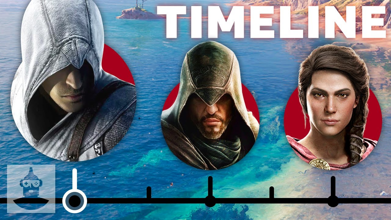 The Truly Complete Assassins Creed Timeline | The Leaderboard thumbnail