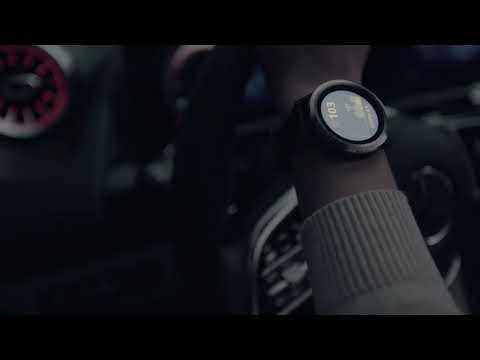 Garmin and Mercedes smartwatch