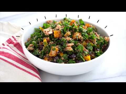 Kale Quinoa Montmorency Cherry Salad