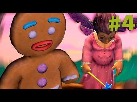 Shrek 2 The Game #4 ФИНАЛ! Битва с феей! - Прохождение на русском