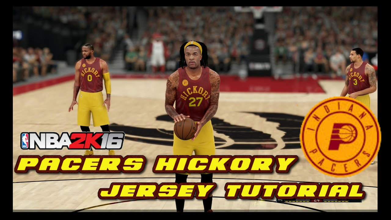 pacers hickory jersey