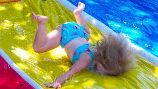 BEST FUNNY BABIES WATER FAILS THAT WILL MAKE YOU LAUGH | Funny Babies Videos Compilation