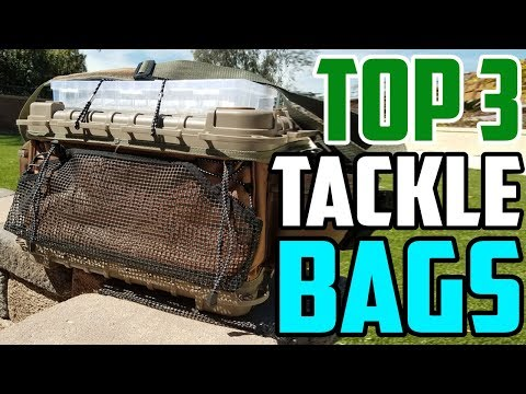 Best Tackle Bags Of 2020 - Which Is The Best Fishing Tackle Bag?