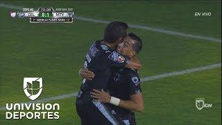 ¡Rogelio Funes Mori abre el marcador para Monterrey!