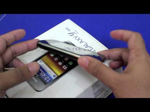 Samsung Galaxy Y Duos Unboxing