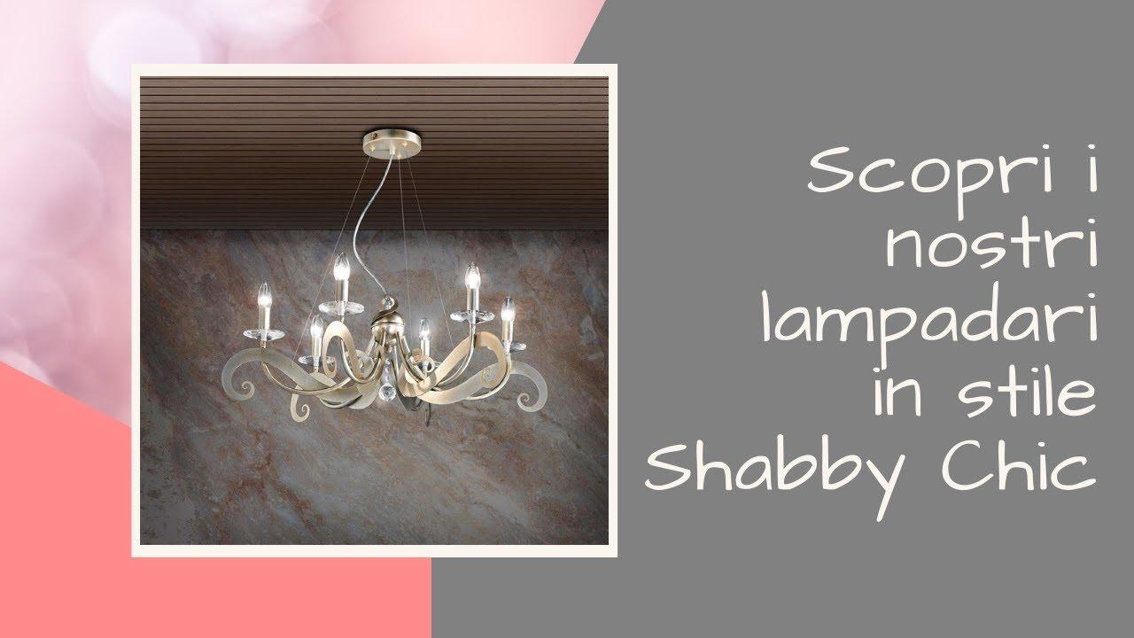 Scopri i nostri lampadari in stile shabby chic youtube