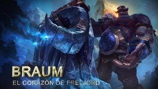Expositor de Campeones: Braum