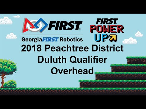2018 PCH District Duluth Event - Overhead Camera - Qualification Match 35