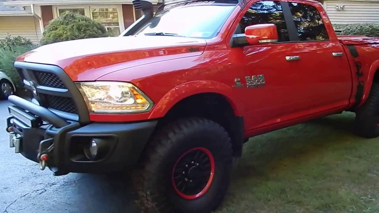 2016 Aev Dodge Ram Prospector Cummins Part Ii Youtube