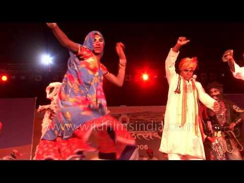 Ila Arun sings Rajasthani folk song 'Mela Mein'