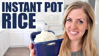 How to Make the PERFECT Instant Pot Rice - White Rice, Brown Rice and Wild Rice