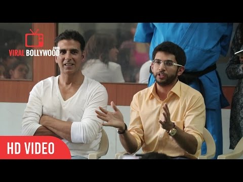 Interesting Story Revealed By Aditya Thackeray How Self Defence Classes Started by Akshay Kumar