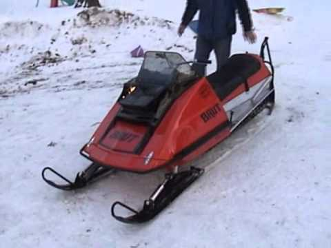 1973 Brutanza Brut charity auction snowmobile