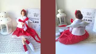 Свадебные куклы мастера Doll Tilda