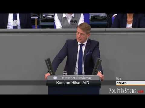 Karsten Hilse (AfD) im Bundestag zur Frauen-Demo in Berlin