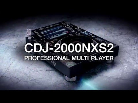 Pioneer DJ CDJ-2000 Nexus Mark 2 USB DJ Player Deck