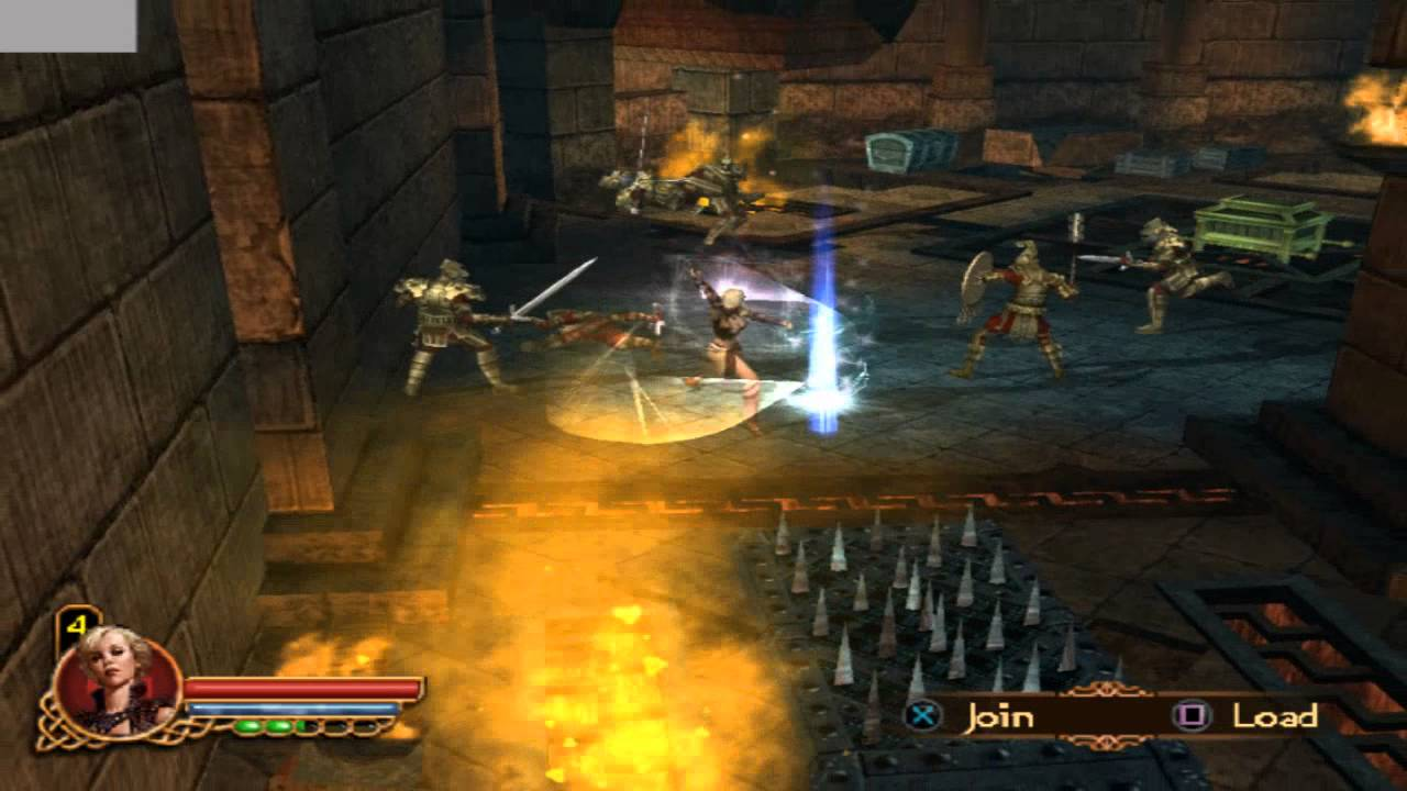Gauntlet Seven Sorrows Gameplay Ps2 Youtube
