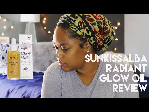 SUNKISSALBA RADIANT GLOW OIL | DEMO & REVIEW