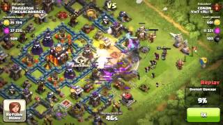 Clash of Clans (CoC) Up The League #5 Defence - Predator - Fail attack, Best Defence Ever