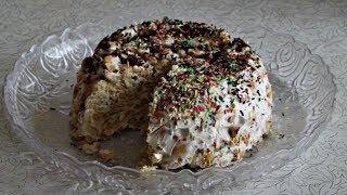 ТОРТИК ИЗ печенья РЫБКА, вкуснятина мммммм