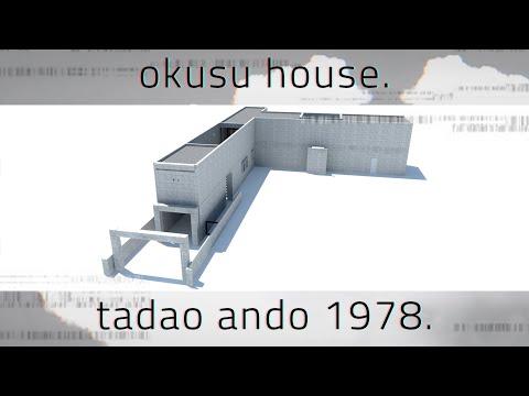Tadao Ando - Okusu House ( 1978 )