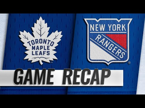 Georgiev sets career high as Rangers top Maple Leafs